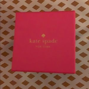 Kate Spade - Never worn- Blue sparkle earrings